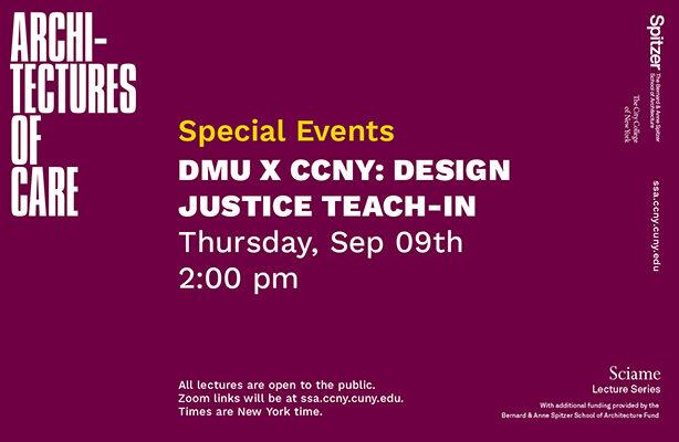 DMU Workshop Sciame Lecture Graphic