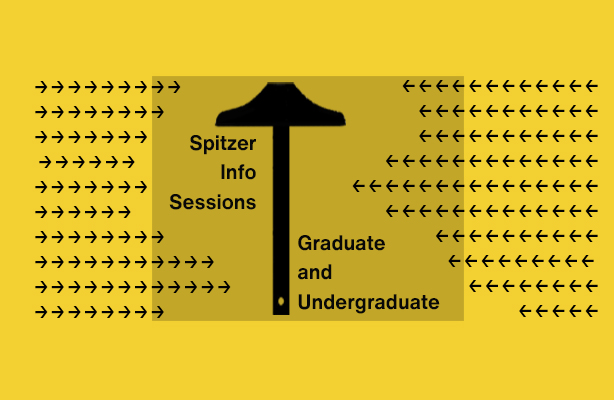 Spitzer Info Session Graphic